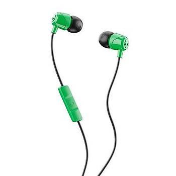 Skullcandy Jib In Ear Mikrofonlu Kulak Ýçi Kablolu Kulaklýk S2DUY-L102 Yeþil-Siyah