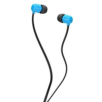 Skullcandy Jib In Ear Mikrofonlu Kulak Ýçi Kablolu Kulaklýk S2DUYK-628 Mavi-Siyah