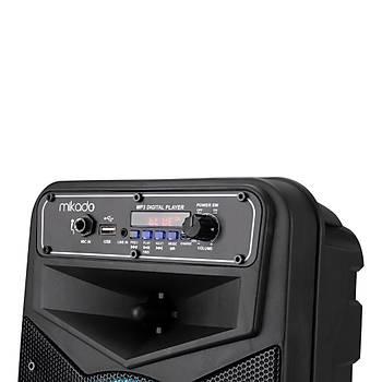 Mikado MD-802KP 3.7V 2400mAh Siyah Kablolu Mikrofon Toplantý Anfisi