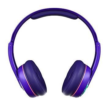 Skullcandy Cassette Kablosuz Bluetooth Kulaklýk Mor
