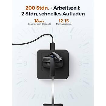 Mpow Mikrofonlu Bluetooth Kulaklýk BH231A -Siyah