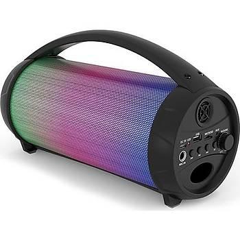 MÝKADO MD-193BT Siyah 8W 1200mAh BT/USB/TF/AUX/TWS/Iþýklý Speaker