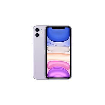 Apple iPhone 11 64 GB Purple MHDF3TU/A (Apple TR Garantili) Aksesuarsýz Kutu