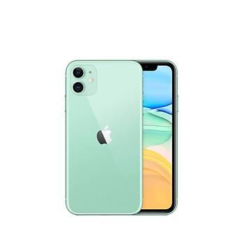 Apple iPhone 11 64 GB Green MHDG3TU/A (Apple TR Garantili) Aksesuarsýz kutu