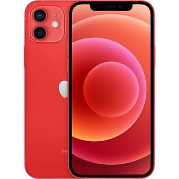Apple iphone 12 64 GB Kýrmýzý MGJ73TU/A (Apple TR Garantili) Aksesuarsýz kutu