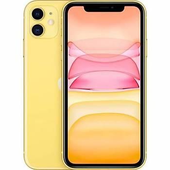 Apple iPhone 11 64 GB Yellow MHDE3TU/A (Apple TR Garantili) Aksesuarsýz kutu