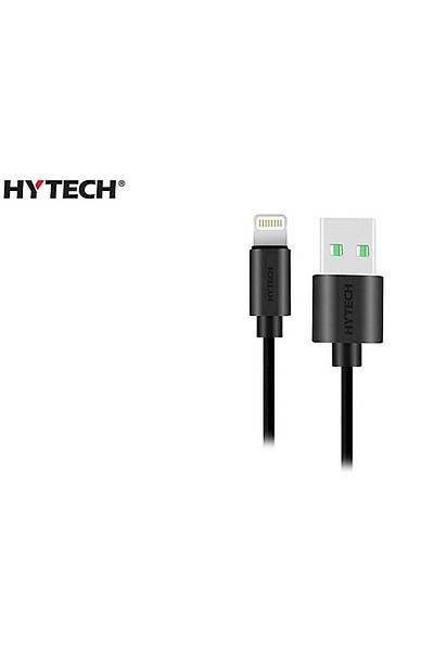 Hytech HY-XF35 1m 2A iPhone Lightning Kablo Siyah