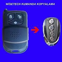 Wisetech Ýþyeri Alarm Kumandasý Kopyalama