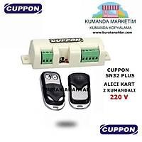 Cuppon SN32 Alıcı Kart 2 KUMANDALI