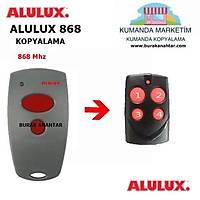 ALULUX 868 KUMANDA KOPYALAMA alulux 868 remote control copy