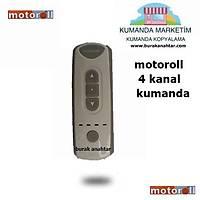 Motoroll  4 Kanal Panjur  Kumandasý motoroll grup kumanda
