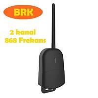 uzun mesafe 868 FREKANS harici alýcý kart 868 Mhz kuru kontak 2 kanal 2 kumandalý