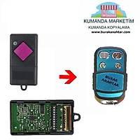 DÝCKERT 433 KUMANDA KOPYALAMA dickert 433 mhz remote control copy