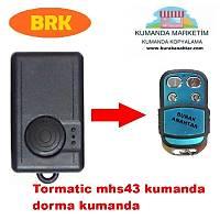 DORMA mhs43- kumanda kopyalama dorma garaj kumandasý kopyalama