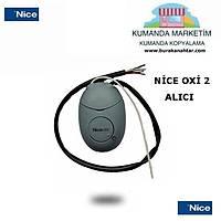 Nice OXÝ2 12/24 ALICI KART   3 KUMANDA ÝLE BÝRLÝKTE