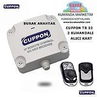 Cuppon TR22 Trafolu Alýcý 2 Kumandalý