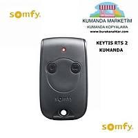 SOMFY KEYTIS 2 BUTON KUMANDA SOMFY GARAJ KUMANDASI