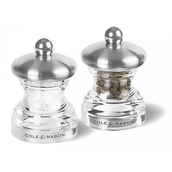 Cole & Mason H302418 Button 65mm Tuz&Biber Deðirmeni Seti