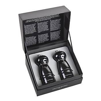 Cole & Mason H477581 Windsor Black 120mm Tuz&Biber Deðirmeni Seti