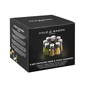 Cole & Mason H103059 Carousel 8li Baharat Seti