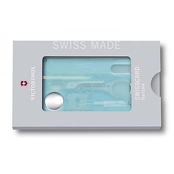 Victorinox 0.7240.T21 SwissCard Manikür Seti