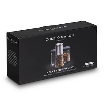Cole & Mason H104388 Kingsley Deðirmen Kavanoz Seti