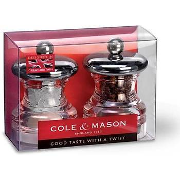 Cole & Mason HP03780 Po3 65mm Tuz&Biber Deðirmeni Seti