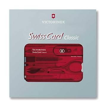 Victorinox 0.7100.T SwissCard Classic Ruby
