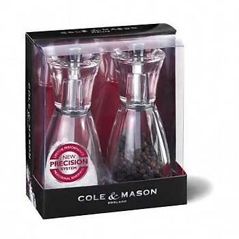 Cole & Mason H35708P Pina 125mm Tuz&Biber Deðirmeni Seti