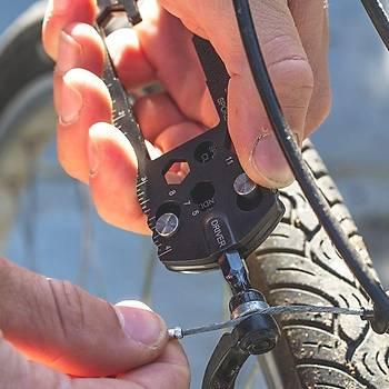 True Utility TU 210 Cycle-On 30 fonksiyonlu Bisiklet Tamir Seti
