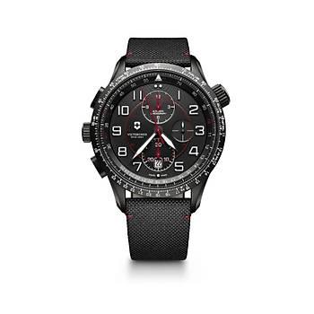 Victorinox Swiss Army 241716 Airboss Mach 9 Black Edition Saat
