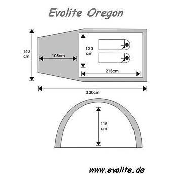 Evolite Oregon (4 Mevsim) Çadýr