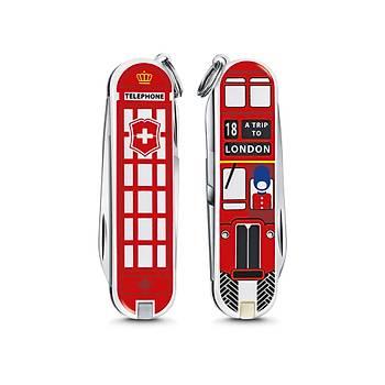 ?Victorinox 0.6223.L1808 Classic A Trip To London Desenli 2018 Limitli Çaký