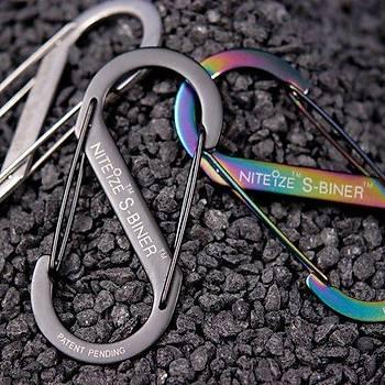 Nite-ize S-Biner Size2 Black