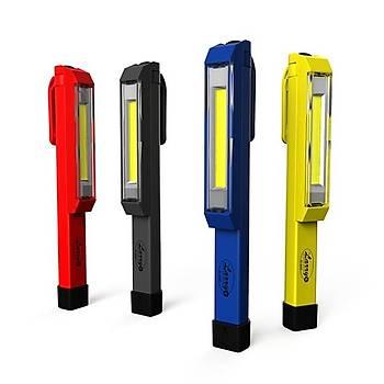 Nebo 6327 LarryC 170 Lümen LED Fener (Siyah)
