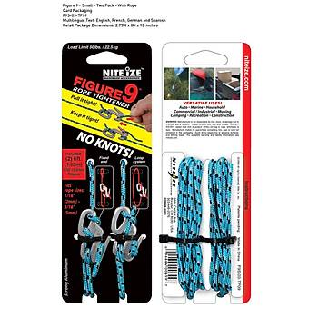 Nite-ize Figure9 Small Two Pack With Rope