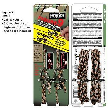 Nite-ize Figure 9 Small Twd Pck With Camo Rope