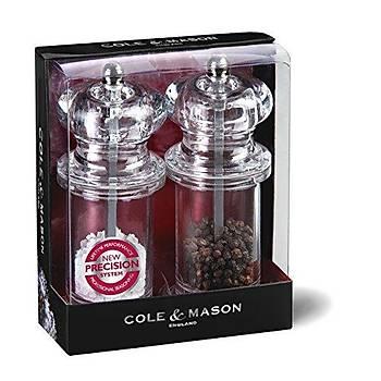 Cole & Mason H57508P 575 Precision 105mm Tuz&Biber Deðirmeni Seti