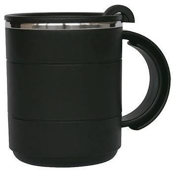 Evolite Ýçi Çelik Dýþý Plastik Kupa Mug