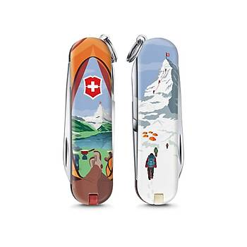 ?Victorinox 0.6223.L1802 Classic Call Of Switzerland Desenli 2018 Limitli Çaký