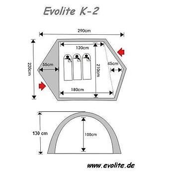 Evolite K-2 (5 Mevsim) Çadýr