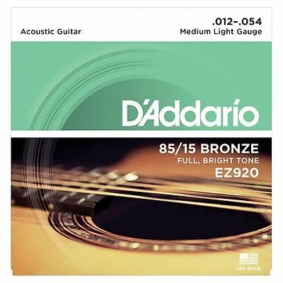 Daddario EZ920 Akustik Gitar Tel Seti. Pena