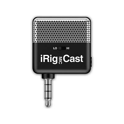 IK Multimedia iRig Mic Cast Ultra-Kompakt Mikrofon (iOS & Android)