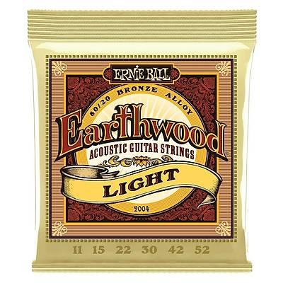 Ernie Ball P02004 Earthwood Light Akustik Gitar Teli + PENA