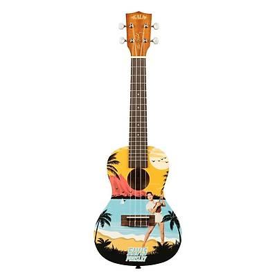 Kala Elvis Blue Hawaii Concert Ukulele Eðitim Seti