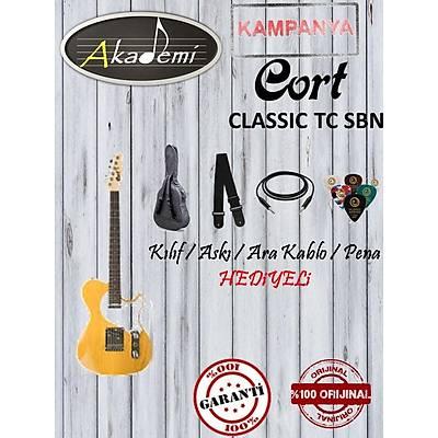 CORT CLASSIC TC SBN Elektro Gitar (Hediyeli)