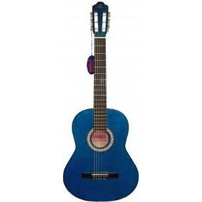 Barcelona LC 3900 BL Mavi Klasik Gitar Hediyeli