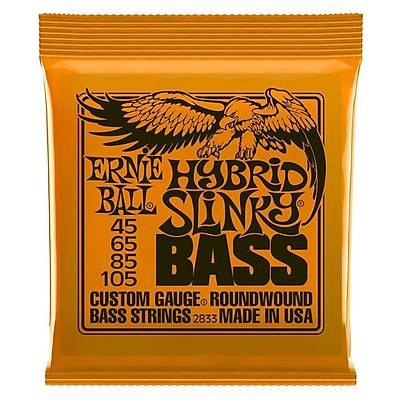 Ernie Ball P02833 Hybrid Slinky Nickel 45-105 Bas Gitar Teli