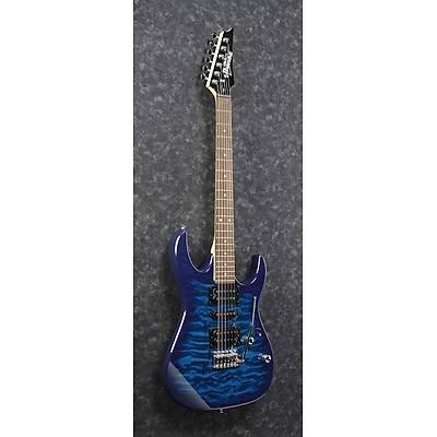 IBANEZ GRX70QA-TBB Transparent Blue Burst Elektro Gitar