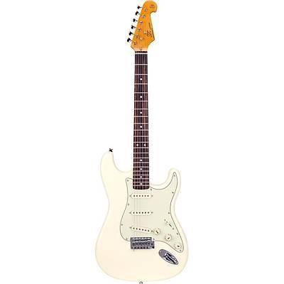 SX SST62 VWH Stratocaster Elektro Gitar / Kýlýf